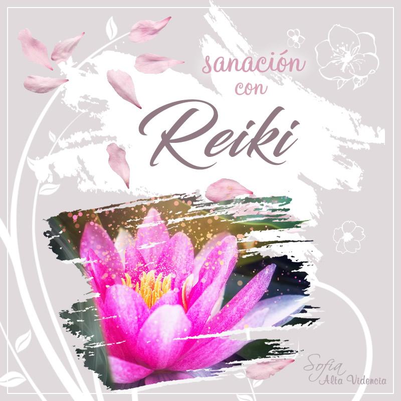 Sanación con Reiki