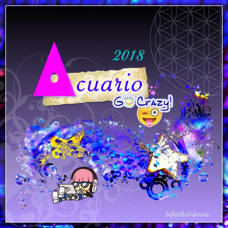 Horóscopo 2018 para Acuario