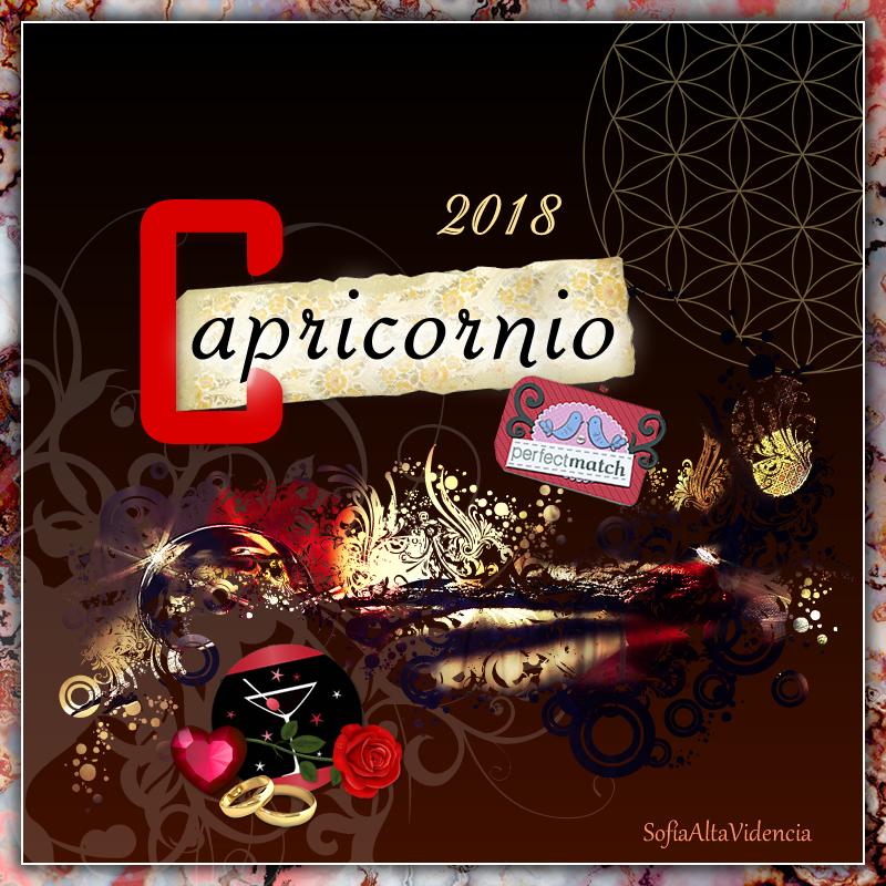Horóscopo 2018 para Capricornio
