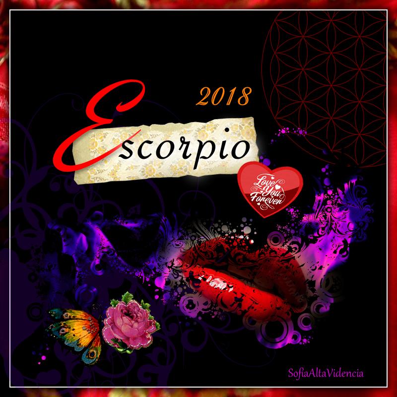 Horóscopo 2018 para Escorpio