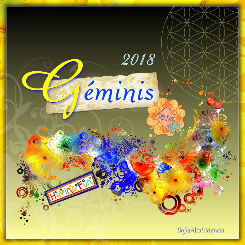 Horóscopo 2018 para Géminis