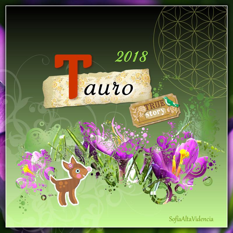 Horóscopo 2018 para Tauro