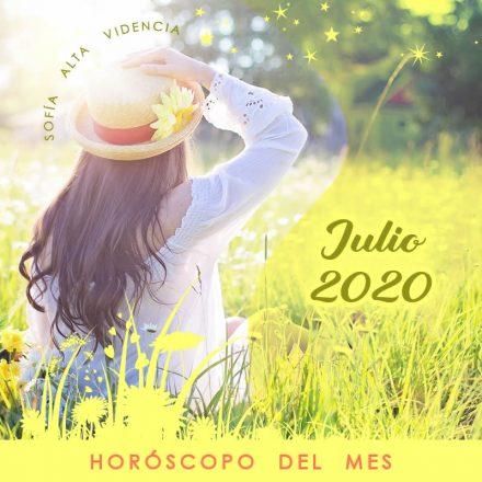 Horóscopo del mes de Julio 2020